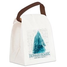 Howard Roark Architect Canvas Lunch Bag