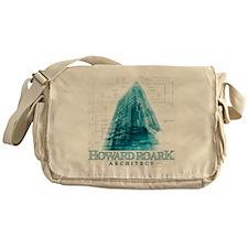 Howard Roark Architect Messenger Bag