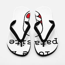 I love my parasite Flip Flops