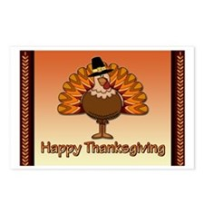 Happy Thanksgiving Postcards (Package of 8)