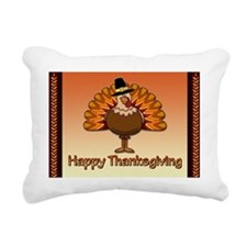 Happy Thanksgiving Rectangular Canvas Pillow