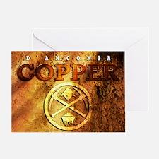 dAnconia Copper Greeting Card