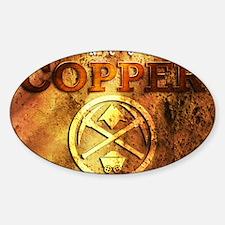 dAnconia Copper Sticker (Oval)
