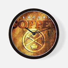 dAnconia Copper Wall Clock