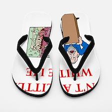 med joke Flip Flops