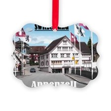 Flags of Switzerland Ornament