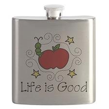 Life Is Good Flask