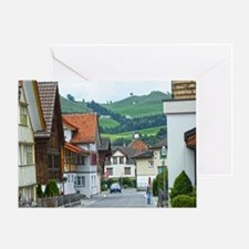 Streets of Appenzell Greeting Card