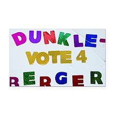 Vote 4 Dunkleberger Rectangle Car Magnet