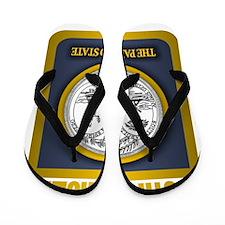 South Carolina State Seal (B) Flip Flops