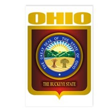 Ohio State Seal (B) Postcards (Package of 8)