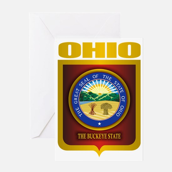 Ohio State Seal (B) Greeting Card