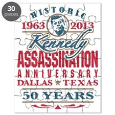 JFK Kennedy Assassination Anniversary 1963  Puzzle