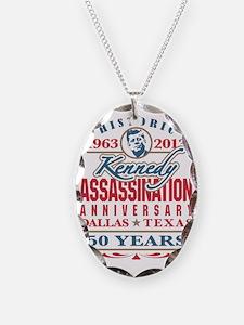 JFK Kennedy Assassination Anni Necklace