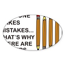 Everyone Makes Mistakes Decal