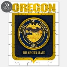 Oregon State Seal (B) Puzzle