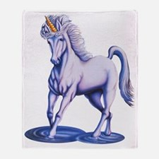 Unicorn Falls B Throw Blanket