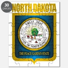 North Dakota Seal (B) Puzzle