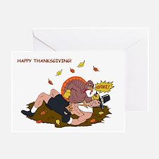 MMA Thanksgiving  Turkey! Greeting Card