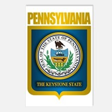 Pennsylvania State Seal ( Postcards (Package of 8)