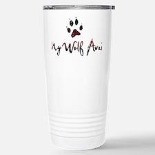 My Wolf Awaits Travel Mug
