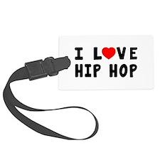 I Love Hip Hop Luggage Tag