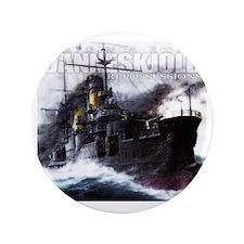 """Danneskjold Repossessions Ship 3.5"""" Button"""
