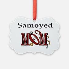 Samoyed Mom Ornament