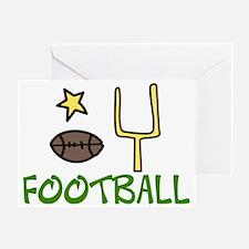 Football Greeting Card