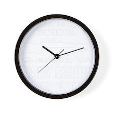 blk_cafe_Scout_Sniper_School Wall Clock