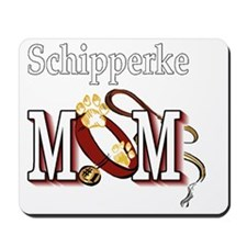 Schipperke Mom Mousepad