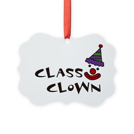 Class Clown Picture Ornament
