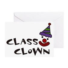 Class Clown Greeting Card