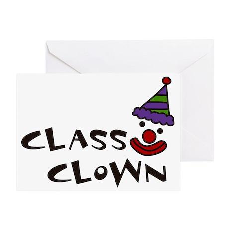 Class Clown Greeting Card