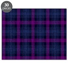 purple tartan Puzzle
