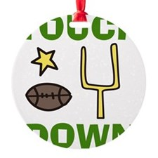 Touchdown Ornament