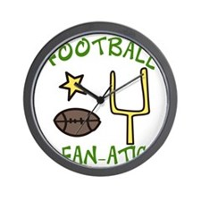 Football Fanatic Wall Clock