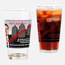 Romney in The Handmaid's Tale Drinking Glass
