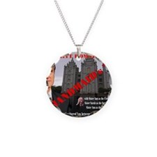 Romney in The Handmaid's Tal Necklace Circle Charm
