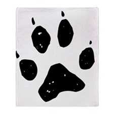 Paw Throw Blanket