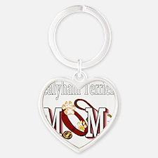 Sealyham Terrier Mom Heart Keychain