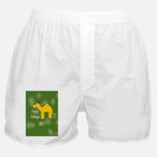 Camel Happy Holidays! (Oval) Ornament Boxer Shorts