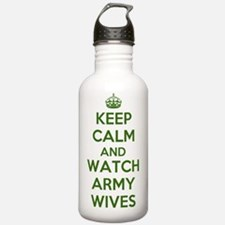 Keep Calm and Watch Ar Water Bottle