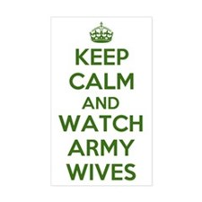 Keep Calm and Watch Army Wives Decal
