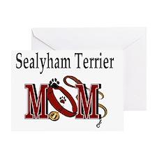 Sealyham Terrier Mom Greeting Card