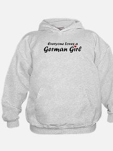 Everyone Loves a German Girl Hoodie