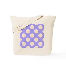 polka dots purple Tote Bag