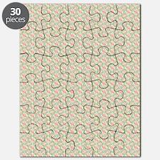 Retro Atomic Era Starburst Multi Shades Geo Puzzle