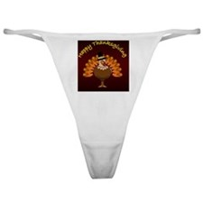 Happy Thanksgiving Classic Thong