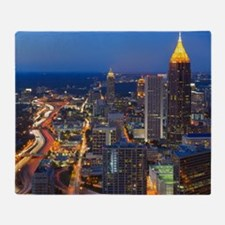 Atlanta, Georgia Throw Blanket